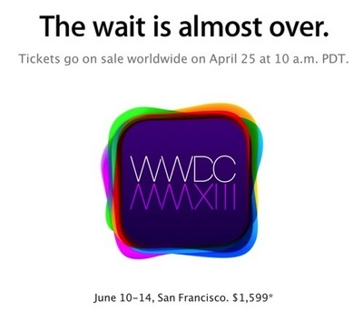 WWDC 2013 The-wait-is-almost-over